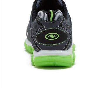 5eaa9958f Athletic Works Shoes | Twostrap Grey Athletics Boys Shoe | Poshmark